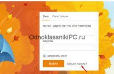 Как посмотреть пароль на Одноклассниках на компьютере?