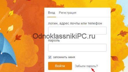 Как посмотреть пароль на Одноклассниках на компьютере