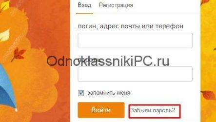 Одноклассники: как открыть мою страницу